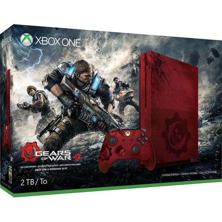 X BOX ONE S 2 TB:GEARS OF WAR 4